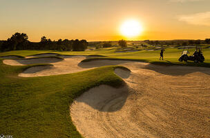 Bella-Collina-Golf-Course-Sunset