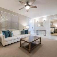 2 Bedroom + Den Suite - Den Area