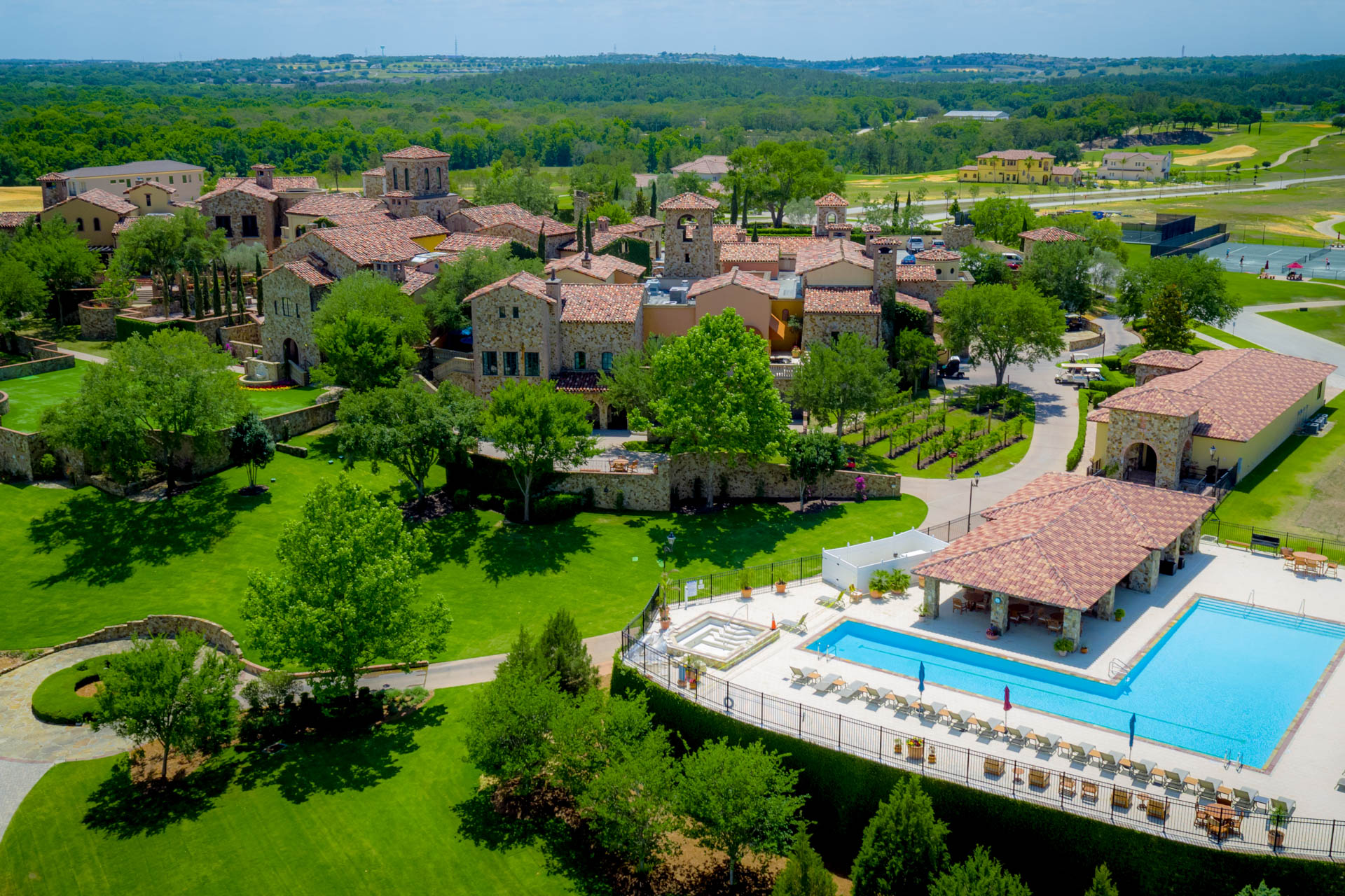 Eat, Exercise, and Be Pampered at Bella Collina