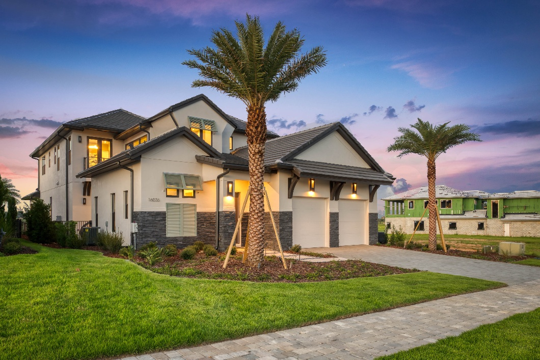 Customize the Architectural Style and the Floor Plan