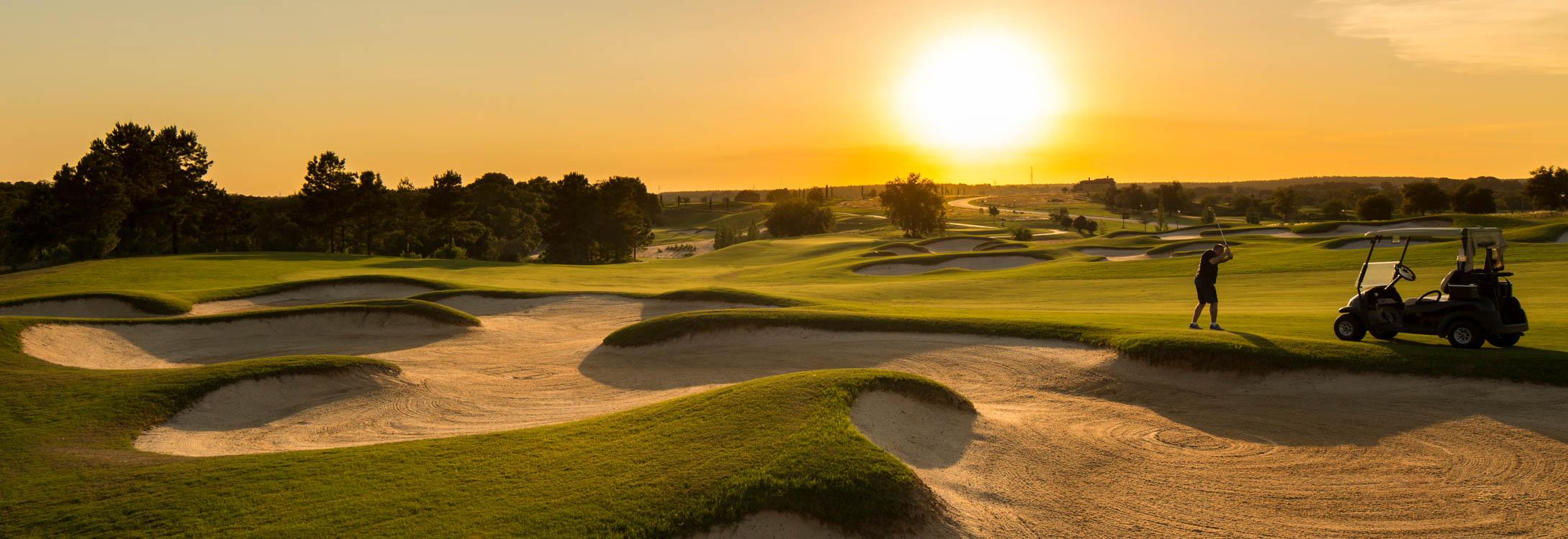 Bella Collina Golf Course Sunset