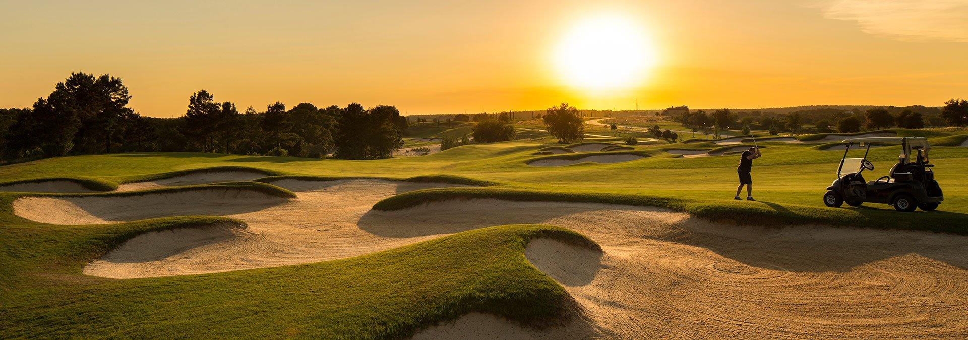 Bella-Collina-Golf-Course-Sunset